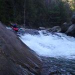 Ed-10 foot falls -Wilson Creek - 2 (11/30/03)